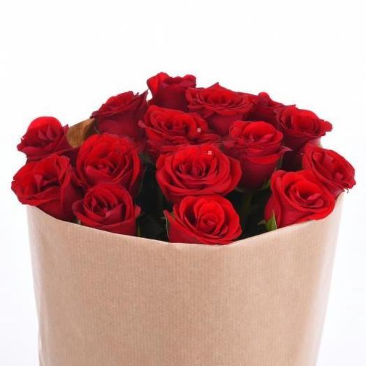 Кенийская красавица 25 роз