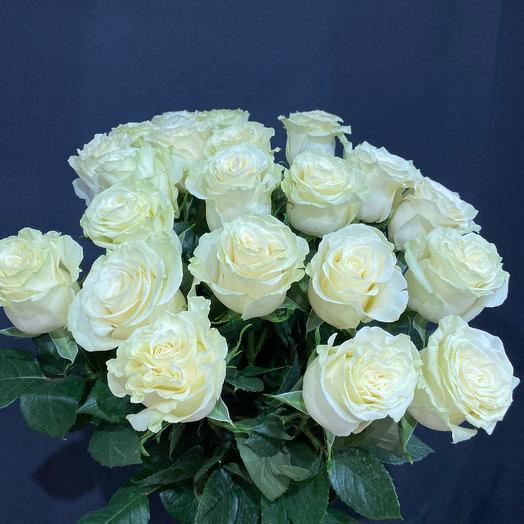 Белая Роза Мондиаль 70 см