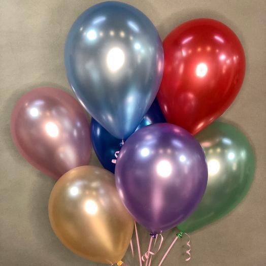 7 шаров ( можно внести изменения по цветовой гамме )