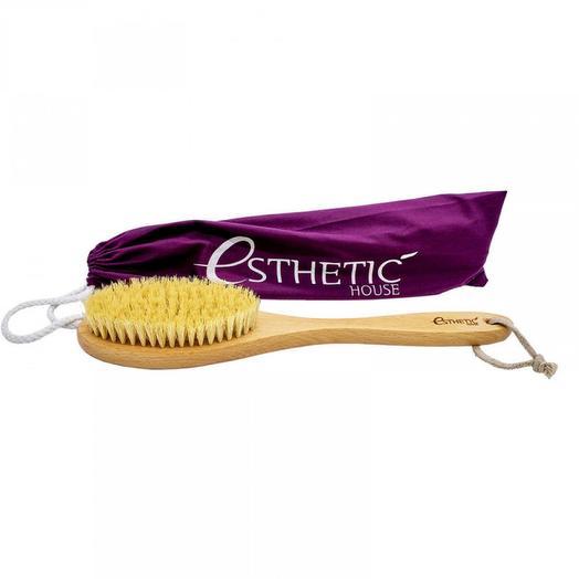 Дренажная щетка для сухого массажа Esthetic House Dry Massage Brush