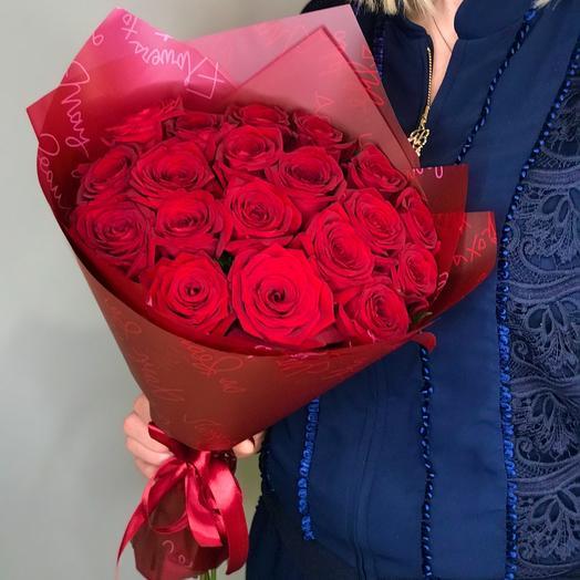 13 красных роз