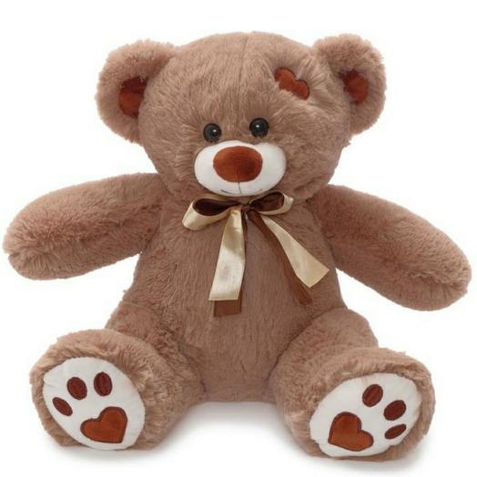 Медведь Тони (коричневый) 50 см
