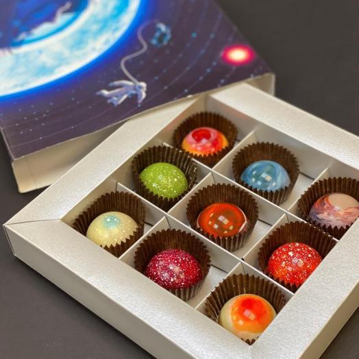 """Шоколадные планеты """"Гагарин"""""""
