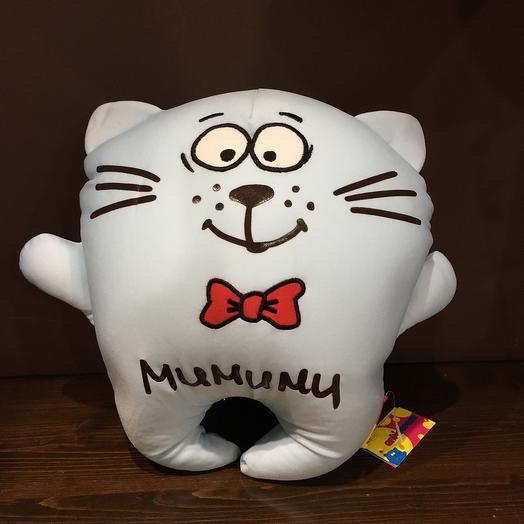 Кот подушка Мимими Антистресс