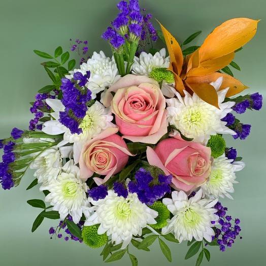 Цветы в коробке Батерфляй