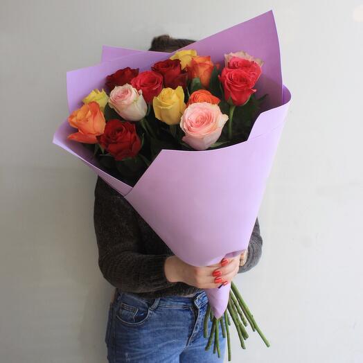 Букет роза микс