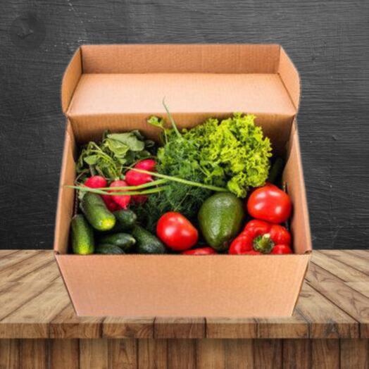 Продуктовый салатный набор из овощей