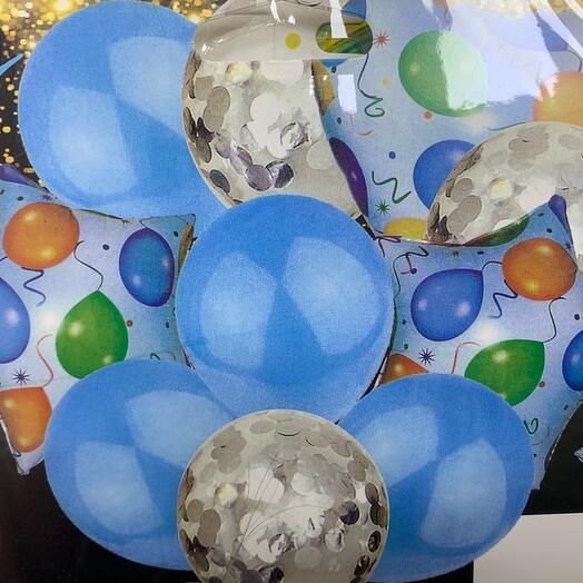 Связка 10 шаров