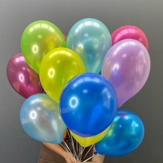 15 helium balloons mix
