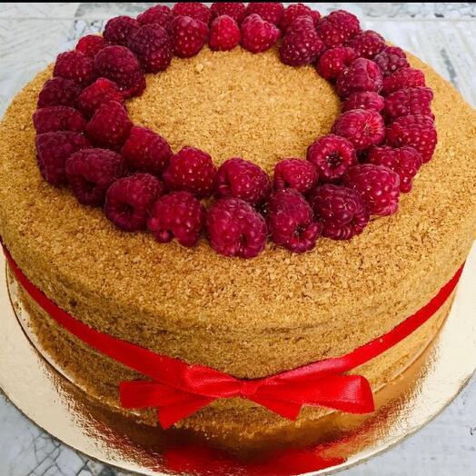 Торт «Медовик»