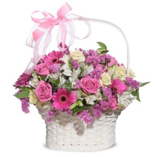 164781 Корзина Очарование: букеты цветов на заказ Flowwow