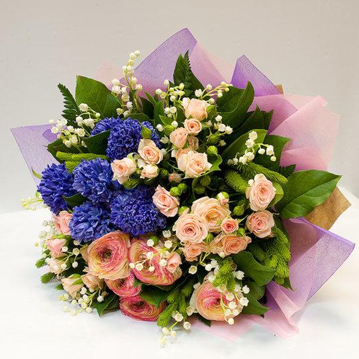 Букет цветов Свежесть весны