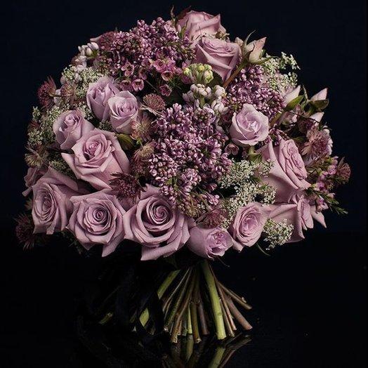 Букет номер один Нега: букеты цветов на заказ Flowwow