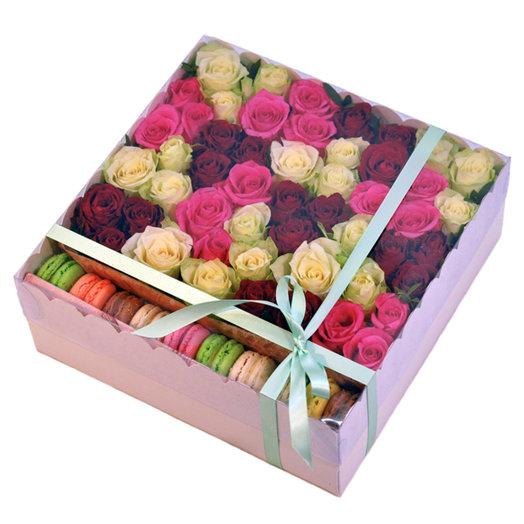 Дэйзи бокс: букеты цветов на заказ Flowwow