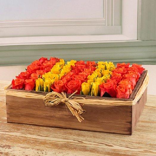 Горизонт: букеты цветов на заказ Flowwow