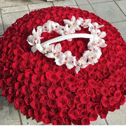 Незабываемое признание: букеты цветов на заказ Flowwow