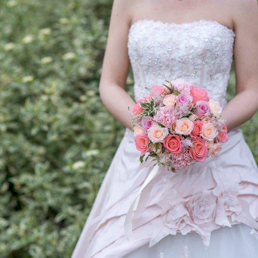 Свадебный букет  14: букеты цветов на заказ Flowwow