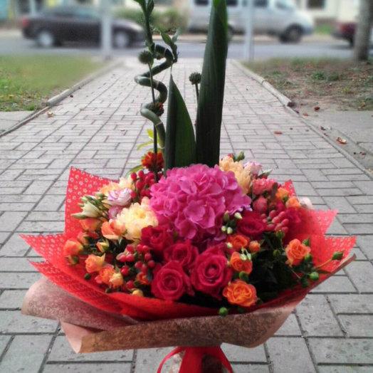 Сердце принцессы: букеты цветов на заказ Flowwow