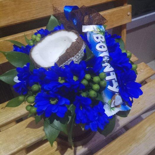 Баунти: букеты цветов на заказ Flowwow