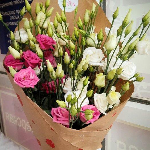 Очаровательной нежности лизиантусы: букеты цветов на заказ Flowwow