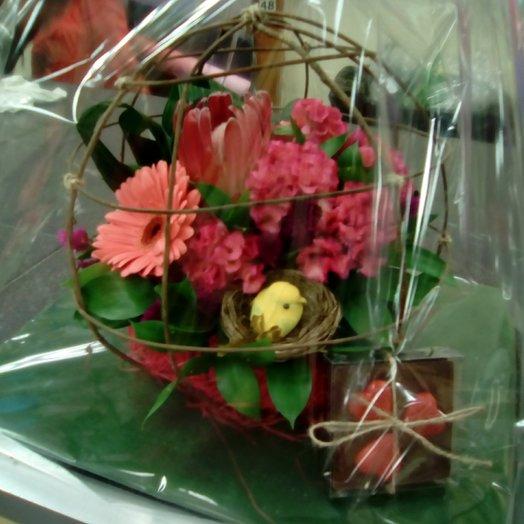 Авторская. Тропическая сфера: букеты цветов на заказ Flowwow