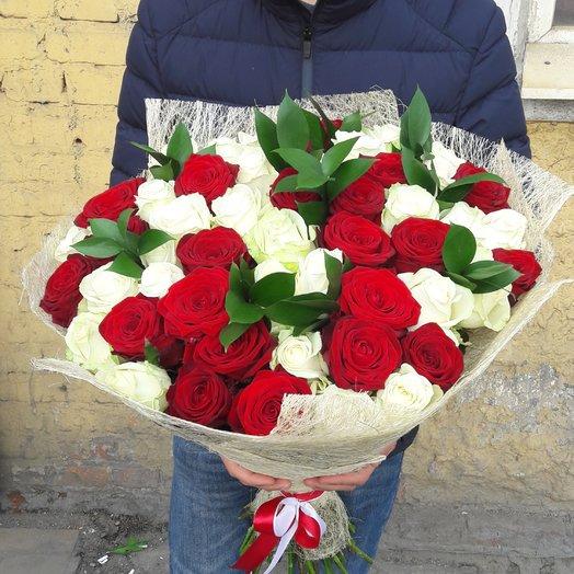 Нежность розы: букеты цветов на заказ Flowwow