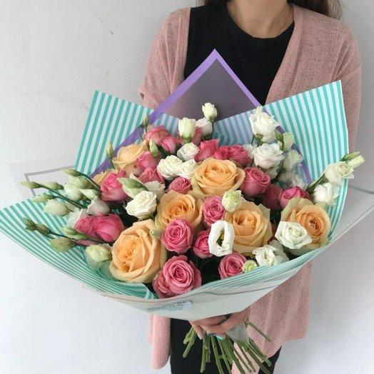 Букет Стильный сюрприз: букеты цветов на заказ Flowwow