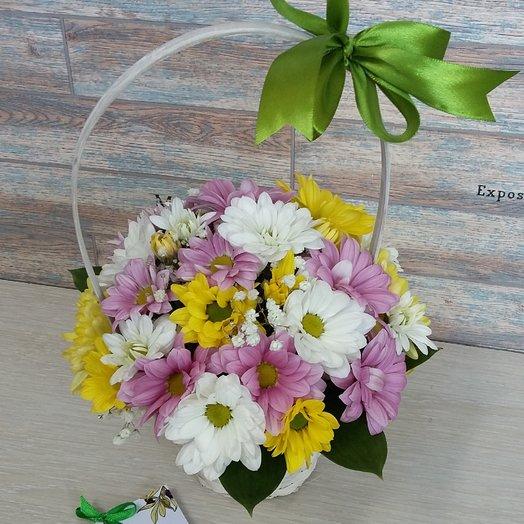 Корзина сборная: букеты цветов на заказ Flowwow