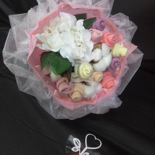 Букет из носков: букеты цветов на заказ Flowwow