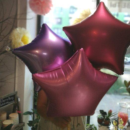 3 звезды : букеты цветов на заказ Flowwow