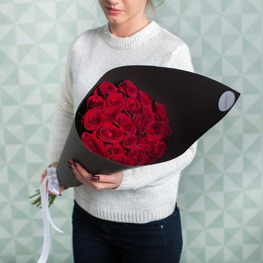 Букет «Рэд Наоми» BLACK: букеты цветов на заказ Flowwow
