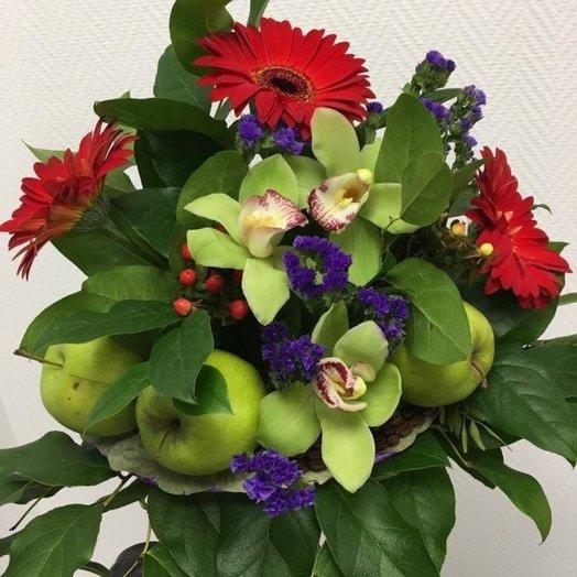 Полезный букет: букеты цветов на заказ Flowwow