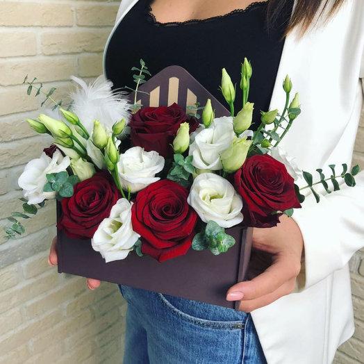 Конвертик: букеты цветов на заказ Flowwow