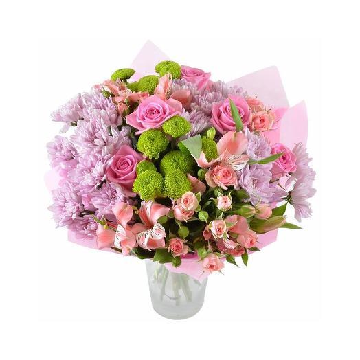 Букет с хризантемами «Ласточка»: букеты цветов на заказ Flowwow