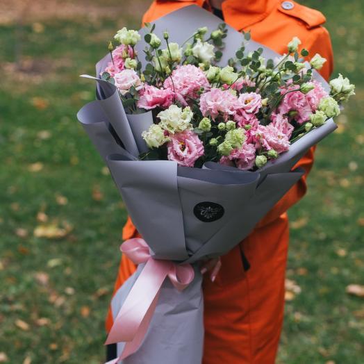 Лизиантус алиса пинк: букеты цветов на заказ Flowwow