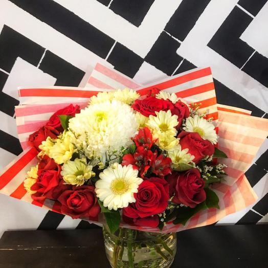 Букет 265: букеты цветов на заказ Flowwow