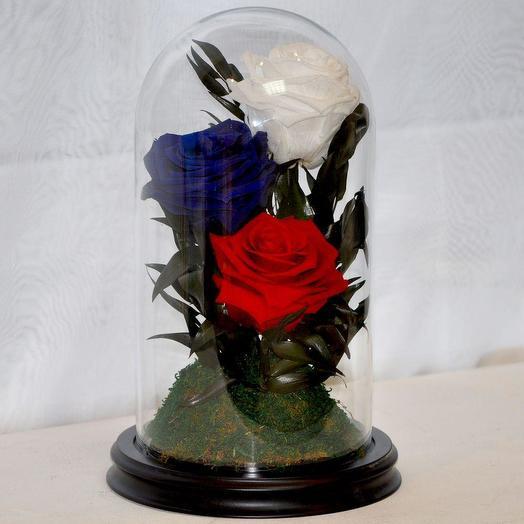 КОМПОЗИЦИЯ «Я ДАРЮ ТЕБЕ СВОЕ СЕРДЦЕ» - БУТОНЫ, МОХ И ДЕКОР: букеты цветов на заказ Flowwow