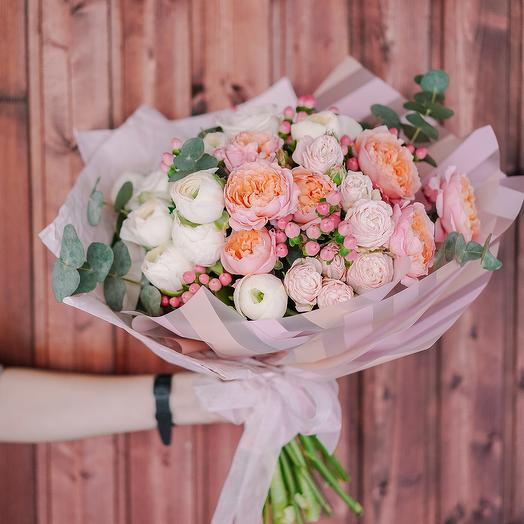 """Букет """"Романтичная Джульетта"""": букеты цветов на заказ Flowwow"""
