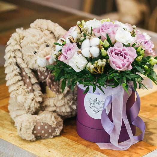 Пушистое счастье: букеты цветов на заказ Flowwow