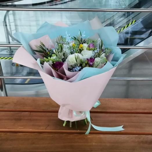 Букет эксклюзив 11: букеты цветов на заказ Flowwow