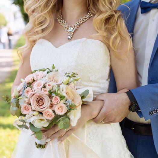 Свадебный Вау: букеты цветов на заказ Flowwow