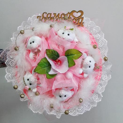 Розовая полянка: букеты цветов на заказ Flowwow