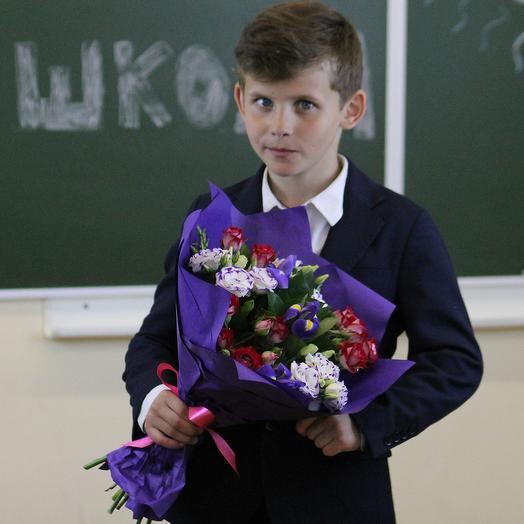Букет для преподавателя 5: букеты цветов на заказ Flowwow