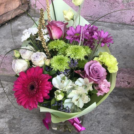 Букет Буйство красок: букеты цветов на заказ Flowwow