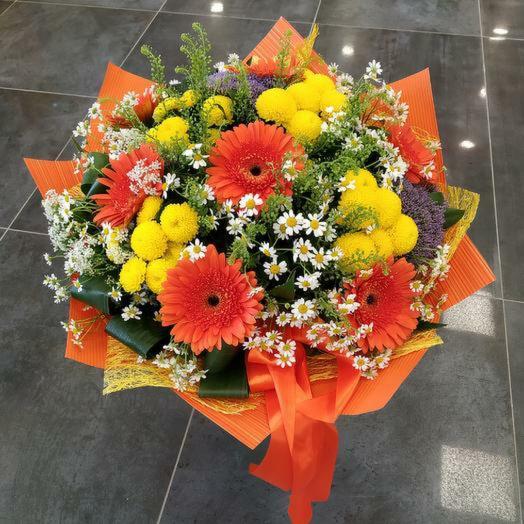 "Букет ""Солнечное лето"": букеты цветов на заказ Flowwow"
