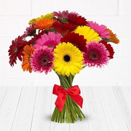 Гербера микс 25: букеты цветов на заказ Flowwow