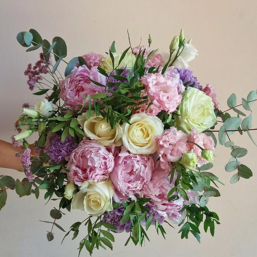 "Bouquet ""Tenderness unvarnished..."": flowers to order Flowwow"