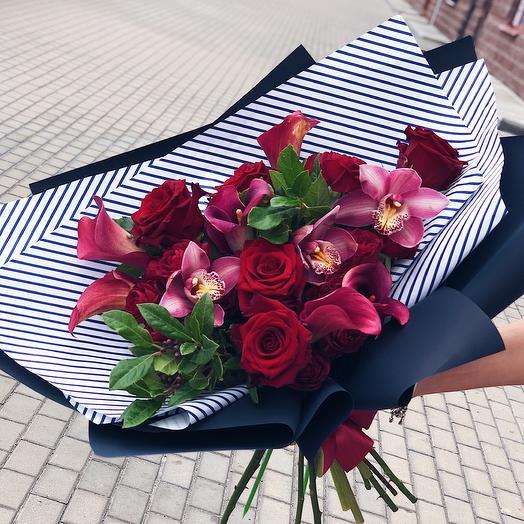 Букет Рэд: букеты цветов на заказ Flowwow