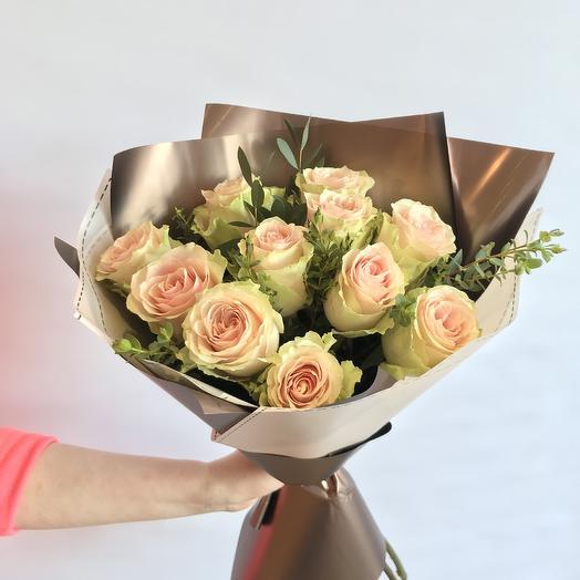 """Букет """"Зефир в шоколаде"""": букеты цветов на заказ Flowwow"""