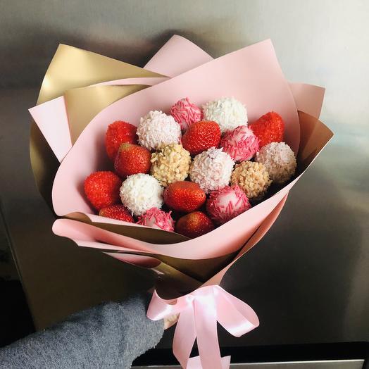 Розовое золото: букеты цветов на заказ Flowwow